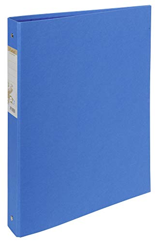 Exacompta 54982E Ringbuch (Recycling-Karton, 2 Ringe, Rücken 40mm, DIN A4) 1 Stück hellblau