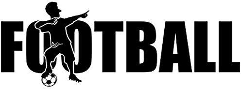 Football Boy – Juego de porterías deportivas de pelota con cita divertida para niños, diseño de jugador de Hobby