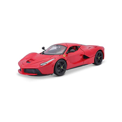 Bburago - 1/18 Ferrari Race & Play LaFerrari, Color Rojo (18-16001)