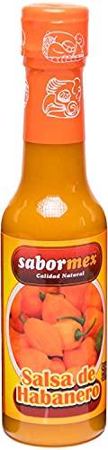 SABORMEX Oranje habanero chilisaus – 148 ml