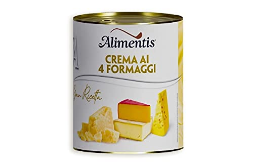 Conserva Italiana Alimentis Crema de iv quesos. Pack 12 X 400G.