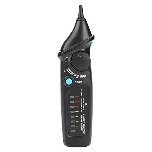Spannungsprüf, Bside AVD06 AC12-1000V Berührungslose Spannung Elektrischer Prüfdetektor Dual Mode Check Spannungstester mit LED Taschenlampe Optische Anzeige