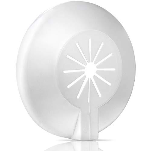 Roseta de 8unidades para radiador | rohrabdeckung |–Rosetón para techo | Tubo manguito | plástico | variable para diámetro de 8–16mm | blitzschnelle montaje