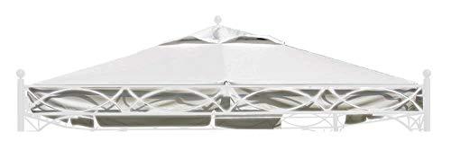 TrendLine Ersatzdach 3,5 x 3,5 m für Pavillon Korsika Weiß Pavillondach