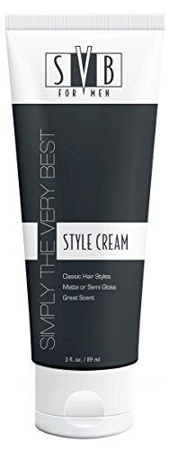 SVB for Men Hair Styling Cream, 3 Ounce