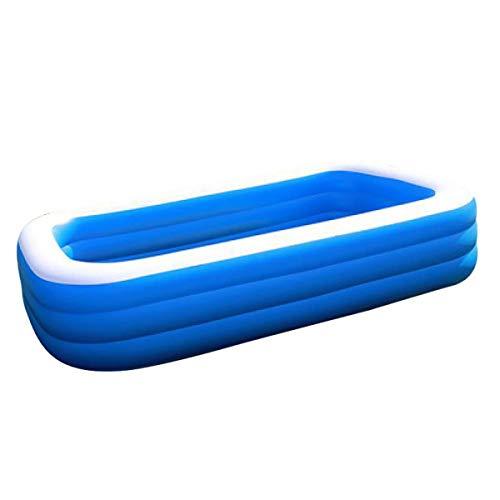 Toy Piscina Gonfiabile Grande Piscina PVC Acqua diapositiva secondaria Piscina all'aperto Estate al Coperto Gommoni, Piscine per Bambini per Game Bambino Home,150 * 110 * 50cm
