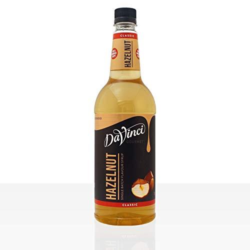 DaVinci Gourmet Classic Hazelnut Syrup Pet, 1er Pack (1 x 1 l)
