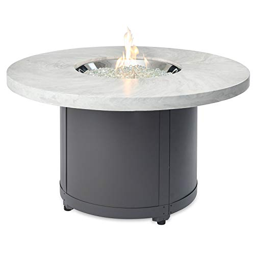 Purchase The Outdoor GreatRoom Company Beacon Chat Height Fire Pit Table with Electronic Ignition (B...