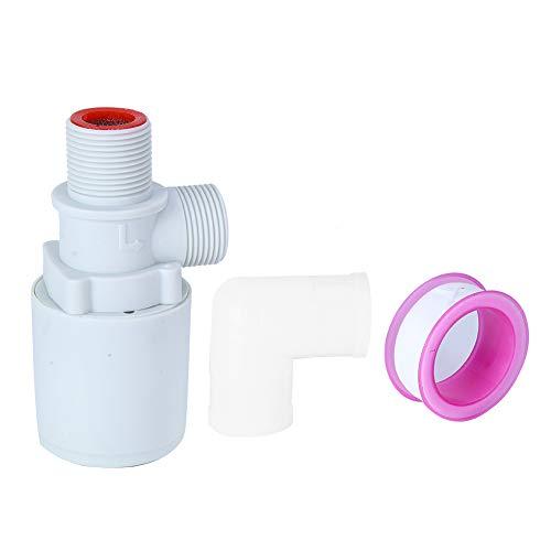 Schwimmerventil - 3/4-Zoll-Automatikventil zur Steuerung des Wasserstandes im schwimmenden Kugelhahn aus Kunststoff mit oberem Einlass für Wassertanks, Türme, Pools