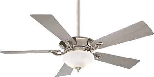 Minka-Aire F701-PN, Delano, 52' Ceiling Fan with Light &...