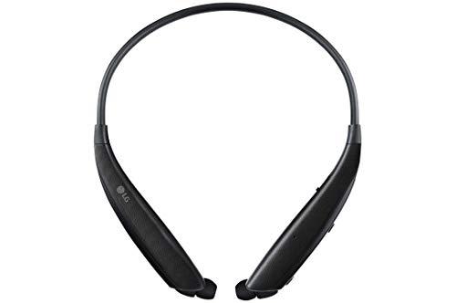 LG HBS-830 Tone Ultra Alpha Wireless In-Ear Headphones (HBS-830) Black - (Renewed)