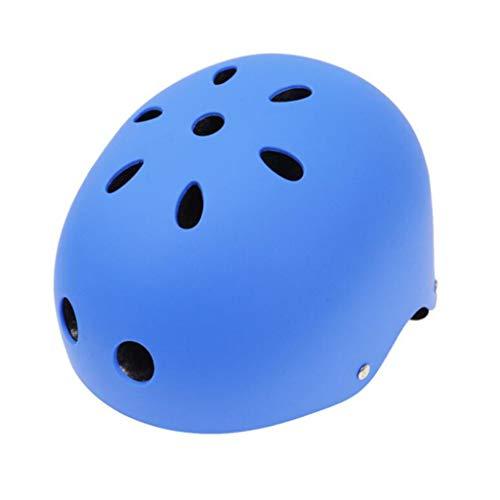 JIE KE motorhelm skateboard katerol veiligheidshelm outdoor sport extreme sport skihelm Blauw-s