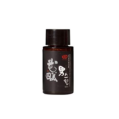WHAMISA Organic Roots Skin Men – vochtinbrengende verzorging voor mannen – intensieve en discrete met kurkuma en yamswortel – Koreaanse natuurlijke cosmetica – sample 20 ml