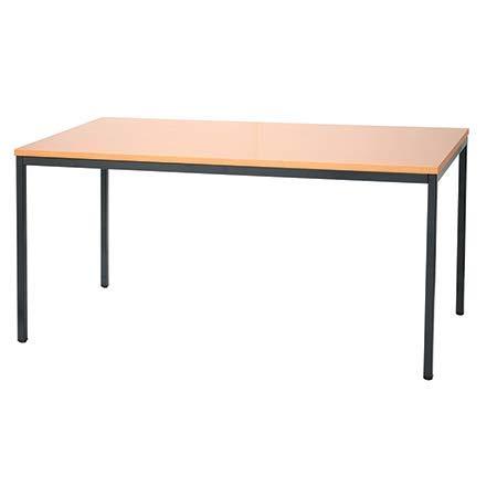 Schreibtisch Buche Dekor Profi Besprechungstisch Büromöbel Verkaufstisch Computertisch 200x80cm 331131
