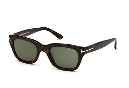 Tom Ford Gafas de Sol 0237_52N (52 mm), color marrón (Dark Havana)