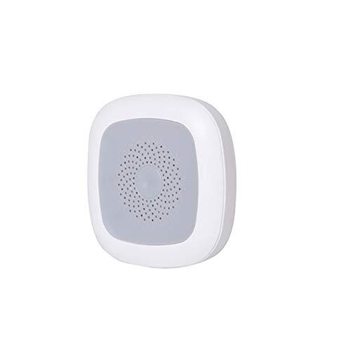 Z-Wave Temperatursensor Hygrometer für Innenräume, Smart APP Steuerung Temperatursensor Hygrometer Thermometer Luftfeuchtigkeit Monitor Messgerät Echtzeit-Wetterstation
