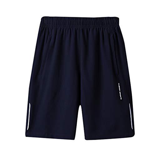 Wiltson Los Hombres de la Marca de Pantalones Cortos Activo de Carga de Entrenamiento Jogger Pantalones de Fitness de Playa para Hombre Junta Corta Secado rápido Sudor Transpirable