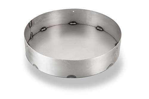 mocisa Universal BBQ Feuerbox Feuereinsatz für Feuerplatte Fassgrill BBQ-.Fass Durchmesser 48cm