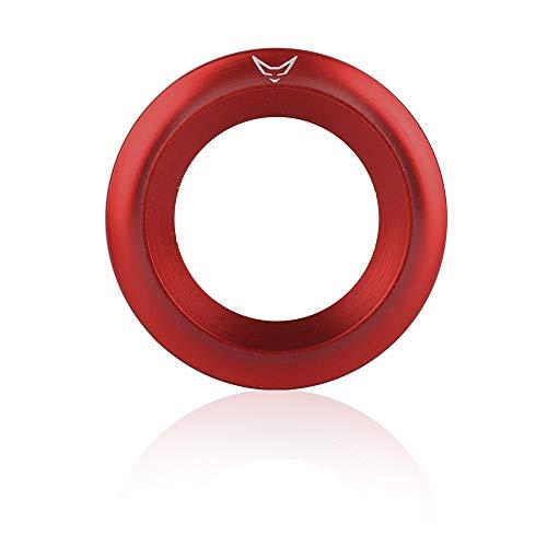 RACEFOXX Zündschlossabdeckung, Zündschloss, Motorradzündung, Zündung, Rollerzündung, rot, für alle Vespa