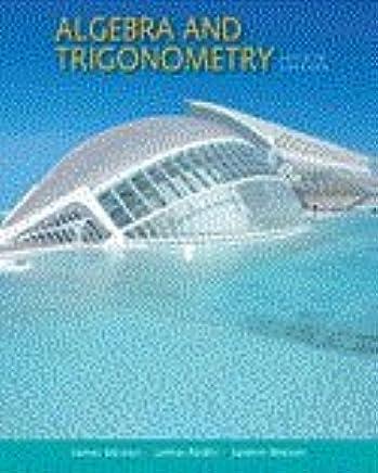 Bundle: Algebra and Trigonometry, 4th + Enhanced WebAssign