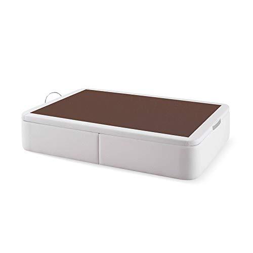 Naturconfort Canapé Premium, Acero, Blanco, 150x190cm