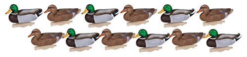Flambeau Outdoors 8030SUV Storm Front 2 Mallard Decoy, Classic Floaters - 12-Pack