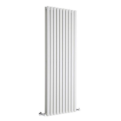 Milano Radiador de Diseño Revive Vertical - Blanco - 2047W - 1600 x 590mm