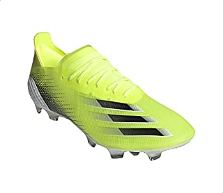 Adidas X Ghosted.1 Textile Two-Tone Printed Front Three Stripe Lace-Up Turf Shoes for Men 46