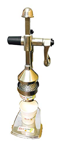 Real Line Stainless Steel Finish Hand Press Juicer
