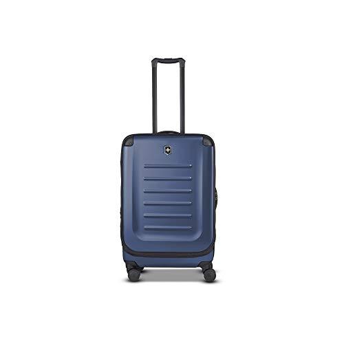 Victorinox Spectra 2.0 - Maleta de 4 Ruedas (tamaño Mediano, Ampliable, 62-91 litros), Color Azul Marino