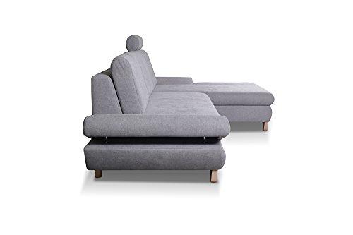 Ecksofa Couch – mb-moebel   Schlaffunktion Eckcouch kaufen  Bild 1*
