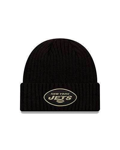 New Era New York Jets Beanie - Salute to Service 2020 - Black - One-Size