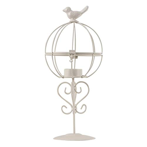 WALNUTA Geometric Metal Tealight Candle Holders for Living Room & Bathroom Decorations - Centerpieces for Wedding & Dining Room, Coffee Side Tables Decor