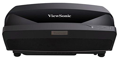 Viewsonic LS830 Laser Ultrakurzdistanz DLP Beamer (Full-HD, 4.500 ANSI Lumen, HDMI, 2x 8 Watt Lautsprecher, 24/7 Betrieb) schwarz