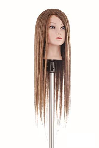 Tête coiffure cheveux professionnelle école coiffeurs cheveux mix longueur 60 cm Labor