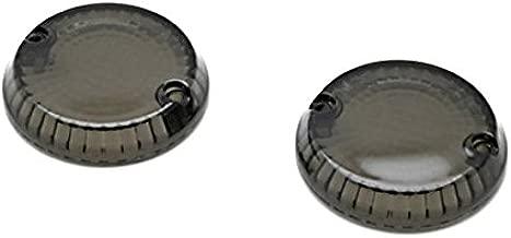 Krator Smoke Turn Signal Lens Lenses Indicator Blinkers For Kawasaki Vulcan 1600 Mean Streak 2004-2008