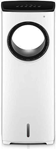 WHA Ventilador sin aspas Super silencioso Iones Negativos Refrigerador de Aire de Seguridad Ventilador sin Hojas Ventilador de Torre de Control Remoto de pie para el hogar, la Oficina, el Dormitorio