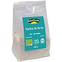Harina Arroz Bio Sin Gluten NaturGreen 400 g