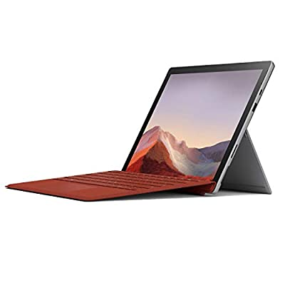 """Microsoft 12.3"""" Surface Pro 7 2-in-1 Touchscreen Tablet, Intel Core i7-1065G7 1.3GHz, 16GB RAM, 256GB SSD, Windows 10 Pro, Platinum from Microsoft"""
