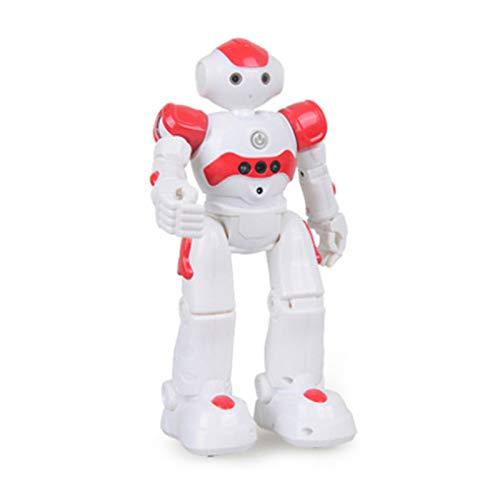 Kzlibkon Esissenils Smart-Robot, High-tech Artificial Intelligence Robot Special Deal, Smart Robot for Kids, Robot Toys for Kids 8-12, Birthday Gift Present (Red)