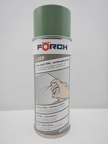 Förch SG - Pintura en espray, 400 ml, Color Verde RAL 6011