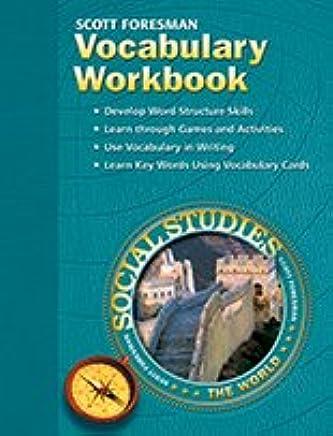 Vocabulary Workbook Scott Foresman Social