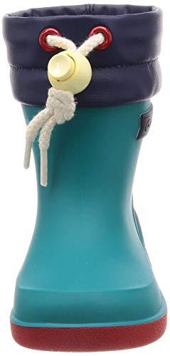[ムーンスター]日本製レインブーツ防滑ソール13~19cm男の子女の子キッズRBB02マルチ17cm2E
