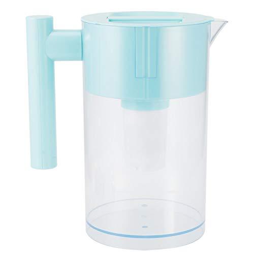 Jarra de Filtro de Agua Purificador de Agua Diseño Circular único Jarra de Agua con Filtro Oficina de Gran Capacidad de 3L para Cocina casera