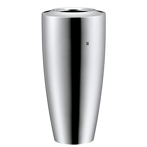 WMF Jette Vase, 18 cm, Cromargan Edelstahl, spülmaschinengeeignet, Tisch-Accessoires