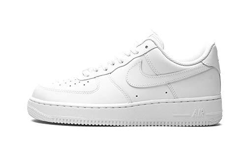 Nike Women's Air Force 1 '07 Basketball Shoe, White, 8