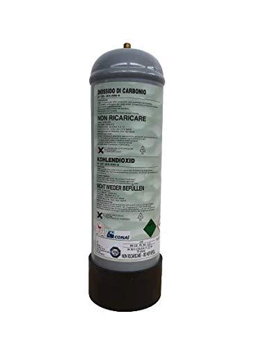 BOMBOLA CO2 ACQUARIO 1200 GR USA E GETTA PASSO 10X1 STANDARD