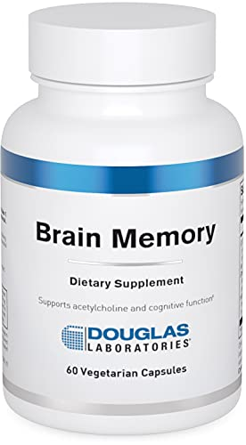 Douglas Laboratories Brain Memory | Memory Supplement to Support Mental Focus, Brain, and Cognitive Health* | 60 Capsules