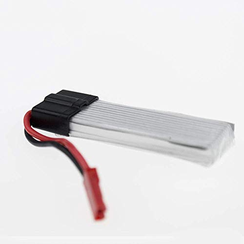 GzxLaY Batteria di Backup ad Alte Prestazioni 3.7 v 600 mAh Batteria Li-po 5 Pezzi con x5 + USB per UDI rc u817 u817a u817c u818a syma s032 Quadcopter Pezzi di Ricambio WLtoys V929