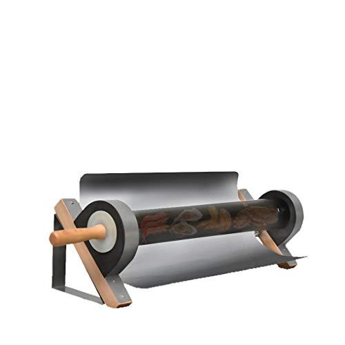 Blue98 Griglia per Barbecue Portatile Fornello per griglia Solare, Griglia Solare Stufa in Acciaio Inossidabile Forno Senza Fumo per i Viaggi all'aperto con Borsa